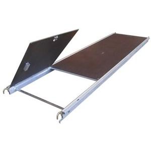 Plancher à trappe pour échafaudage en aluminium type pliable