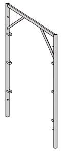 Cadre ouvert galva V17-7 2 x 0.7m